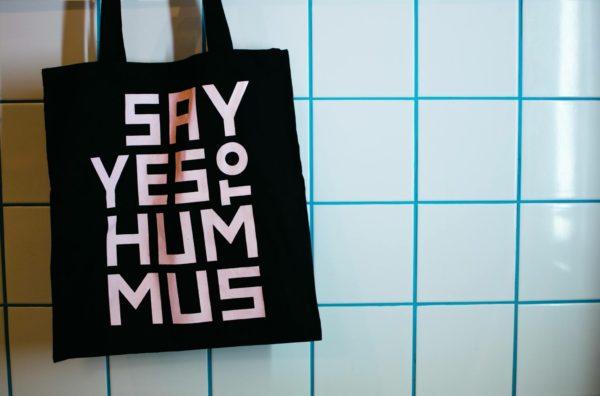 Say Yes To Hummus Jutebeutel